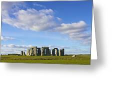 Stonehenge  Greeting Card by Jennifer Lamanca Kaufman