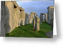 Stonehenge Stones Greeting Card