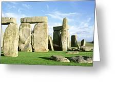 Stonehenge, Wiltshire, England, United Greeting Card