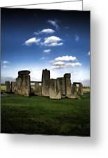 Stonehenged Again Greeting Card