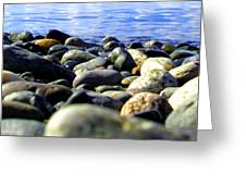 Stones To Admire Greeting Card