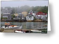 Stonington Harbor 2 Greeting Card