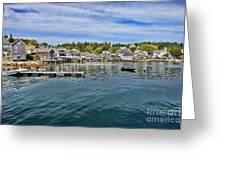 Stonington In Maine Greeting Card