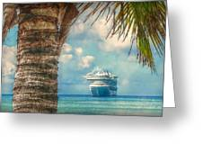 Stopover In Paradise Greeting Card