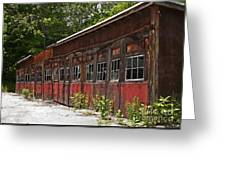 Storage Building Greeting Card
