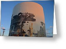 Storage Container Moon Coolidge Arizona 2004 Greeting Card