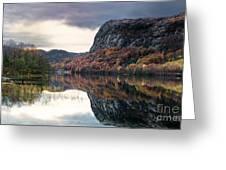 Storavatnet In Fall Greeting Card