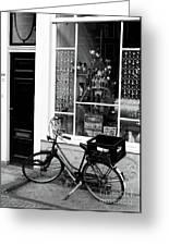 Store Bike Greeting Card