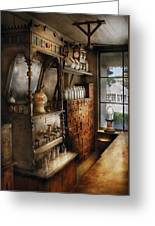 Store - Turn Of The Century Soda Fountain Greeting Card