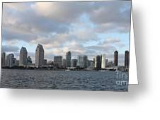 Storm Approaching San Diego  Greeting Card