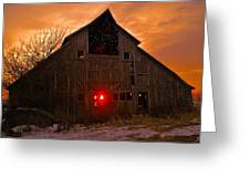 Storm Barn Greeting Card