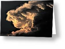 Storm Cloud Menacing Greeting Card