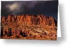 Storm Clouds Capitol Reef National Park Utah Greeting Card