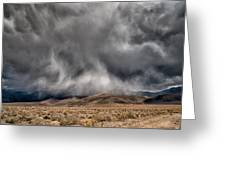 Storm Clouds Greeting Card by Cat Connor