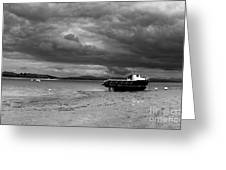 Storm Clouds Coming Greeting Card