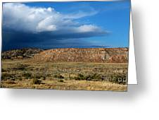 Storm Clouds Over Central Wyoming Greeting Card