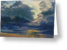 Storm Clouds Over P-town Greeting Card