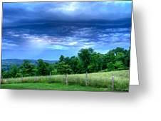 Storm Clouds Greeting Card by Paul Herrmann
