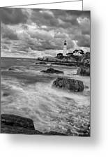 Storm Coming Greeting Card by Jon Glaser