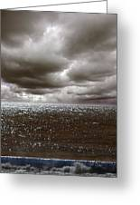 Storm Front Greeting Card by Mark Rogan
