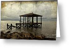Storm In The Distance Greeting Card
