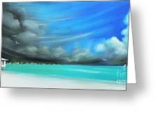 Storm On The Move Greeting Card