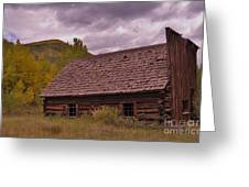 Storm Over Ashcroft Greeting Card