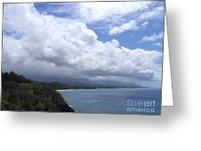 Storm Over Bali Hai Greeting Card