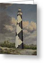 Storm Over Cape Fear Greeting Card