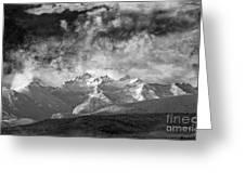 Storm Over Como Greeting Card