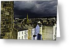 Storm Over Conwy Greeting Card