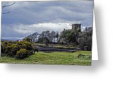 Storm Over Dunollie Greeting Card