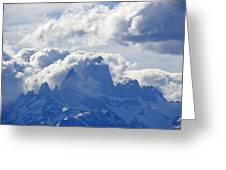 Storm Over Fitz Roy 1 Greeting Card