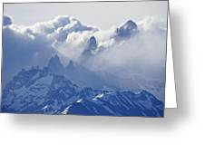 Storm Over Fitz Roy 2 Greeting Card