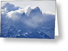 Storm Over Fitz Roy 3 Greeting Card