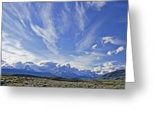 Storm Over Fitz Roy 4 Greeting Card