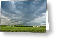 Storm Over Nursery Greeting Card
