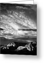 Storm Over Sedona Greeting Card by Dave Bowman