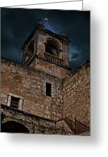 Storm Over The Alcazaba - Antequera Spain Greeting Card