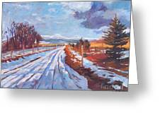 Storm Passing Greeting Card