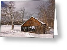 Storm Shed Greeting Card