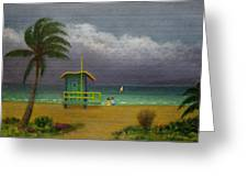 Storm Watchers Greeting Card