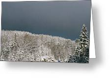 Storm's A'brewin' Greeting Card
