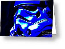 Stormtrooper Helmet 22 Greeting Card