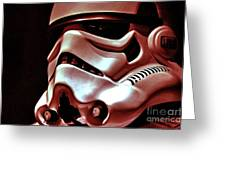 Stormtrooper Helmet 26 Greeting Card