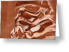 Stormtrooper Helmet 32 Greeting Card