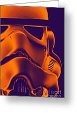 Stormtrooper Helmet 9 Greeting Card