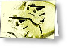 Stormtroopers Greeting Card