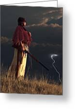 Stormwatcher Greeting Card