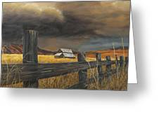 Stormy Clouds Greeting Card